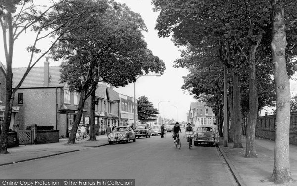 Photo of Ainsdale, Station Road c.1965
