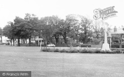 Ainsdale, The Green And Memorial c.1965