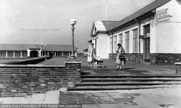 Photo of Ainsdale, The Lido c.1965
