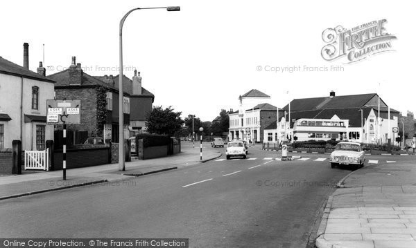 Photo of Ainsdale, The Roundabout c.1965