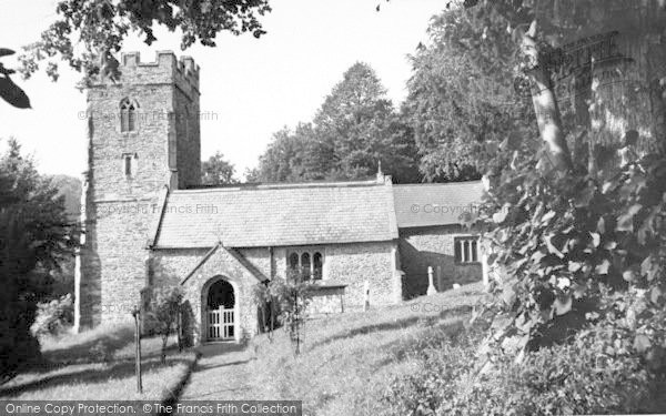 Photo of Aisholt, The Church c.1960