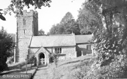 Aisholt, The Church c.1960