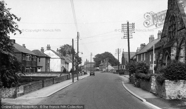 Photo of Aiskew, The Village c.1955