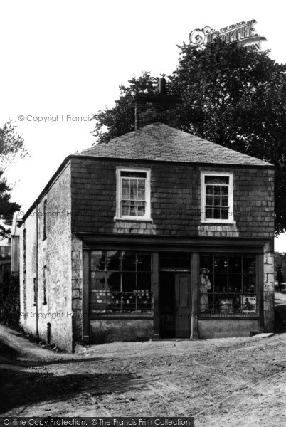 Photo of Albaston, Village Shop 1908