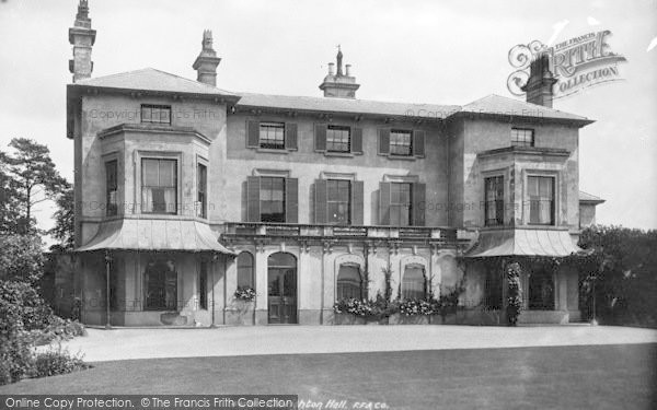 Photo of Albrighton, Albrighton Hall 1899