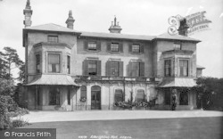 Albrighton, Albrighton Hall 1899