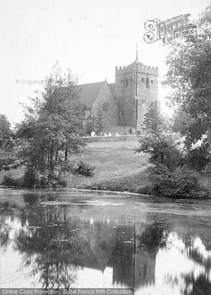 Photo of Albrighton, Church 1898