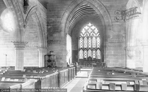 Photo of Albrighton, Church Interior 1898