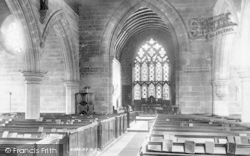 Albrighton, Church Interior 1898