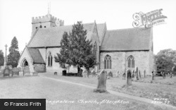 Albrighton, Church Of St Mary Magdalene c.1955
