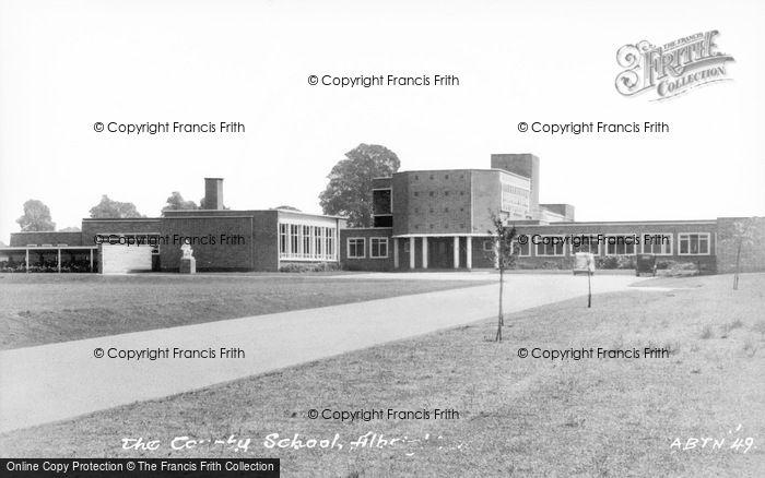Photo of Albrighton, County School c.1955