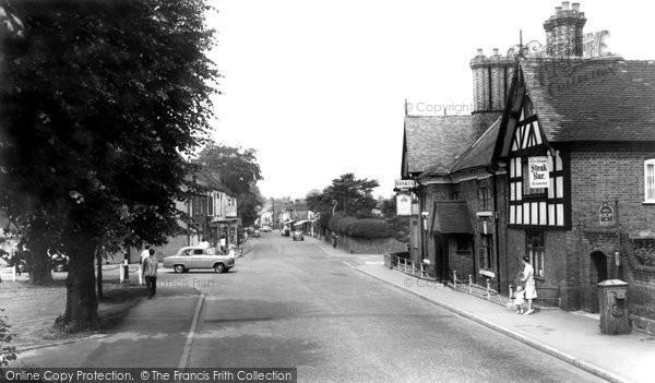 Albrighton, High Street 1964