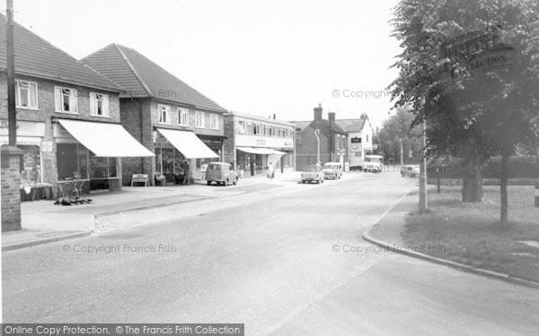Photo of Albrighton, High Street c.1965