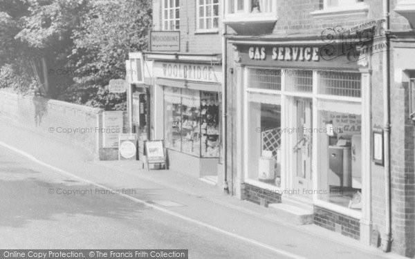 Photo of Albrighton, High Street Shops c.1955