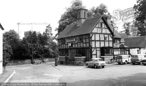 Photo of Albrighton, Shrewsbury Arms Hotel c.1965