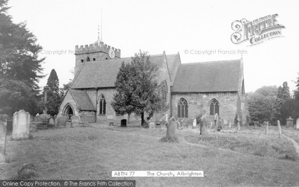 Photo of Albrighton, The Church Of St Mary Magdalene c.1965