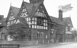 Albrighton, The Crown Corner c.1955