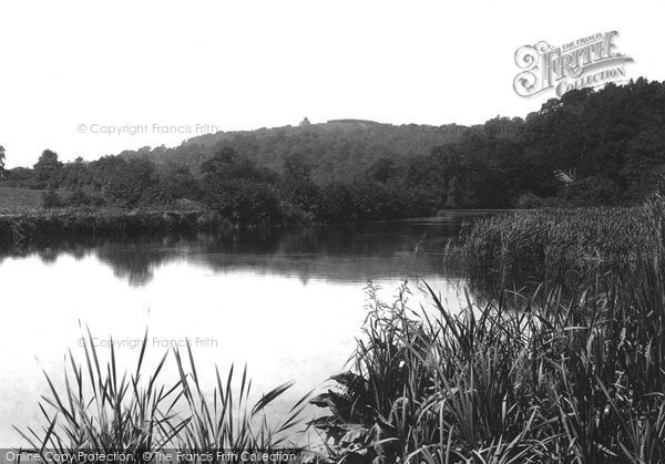Photo of Albury, Albury Mill Ponds 1902