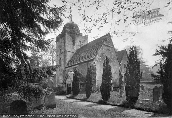 Photo of Albury, Old Parish Church 1921
