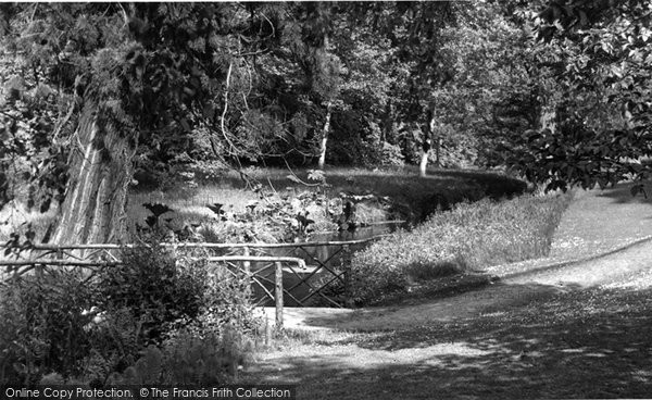 Photo of Albury, Park, The Bridge c.1960