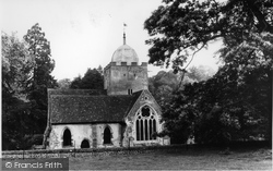 Albury, Park, The Old Parish Church c.1965