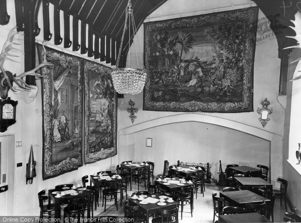 Photo of Albury, Park, The Tapestry Room c.1960