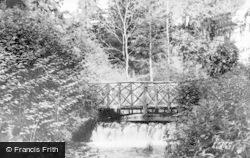 Albury, Park, Waterfall c.1955
