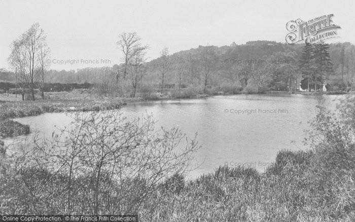 Photo of Albury, Postford Pond, St Martha's 1929
