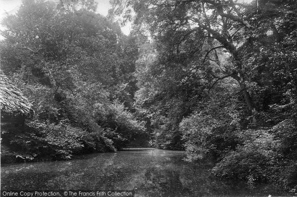 Photo of Albury, Silent Pool 1890