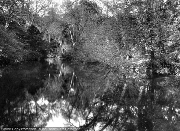 Photo of Albury, Silent Pool 1906