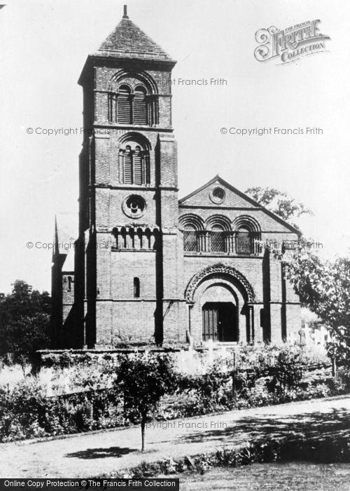 Photo of Albury, The Parish Church 1890