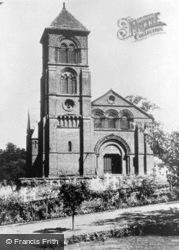Albury, The Parish Church 1890