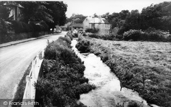 Albury, The River Tillingbourne c.1965