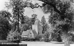 Albury, The Saxon Church 1890