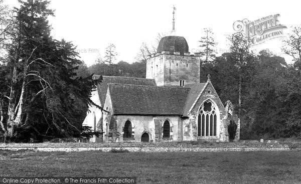 Photo of Albury, The Saxon Church 1925