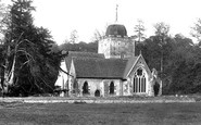 Albury, The Saxon Church 1925