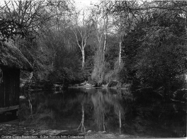 Photo of Albury, The Silent Pool c.1955