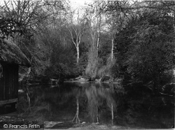 Albury, The Silent Pool c.1955