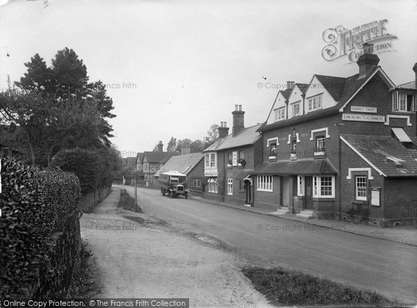 Photo of Albury, The Village 1924