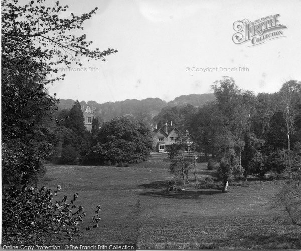 Photo of Albury, View From Albury Park 1932
