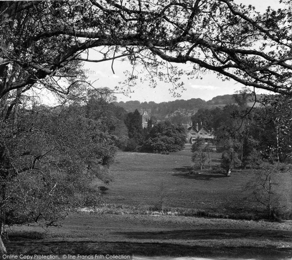 Photo of Albury, View In Albury Park 1932