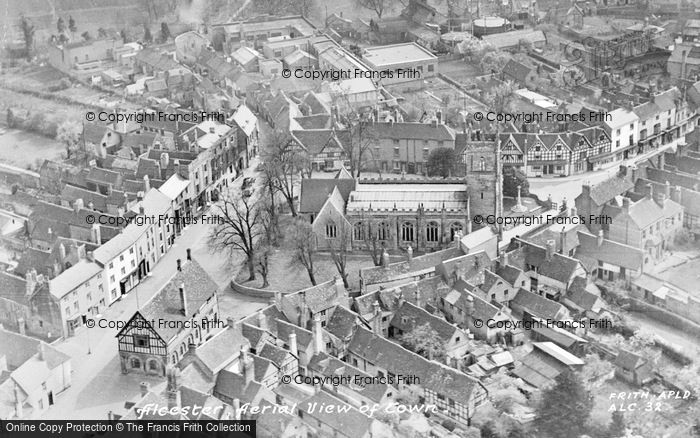 Photo of Alcester, Aerial View Of Town c.1955