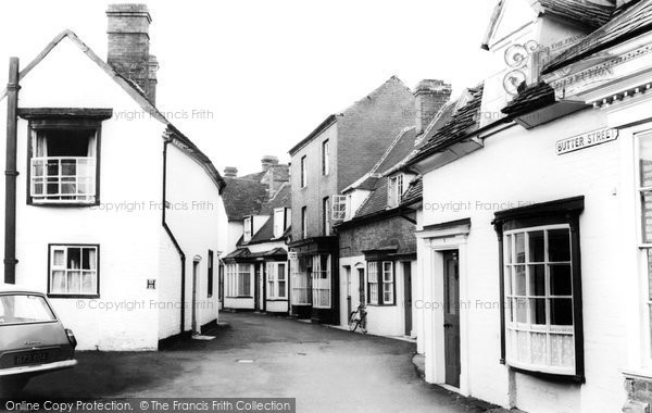 Photo of Alcester, Butter Street c.1965