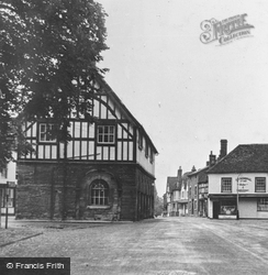 Church Street And Town Hall c.1955, Alcester