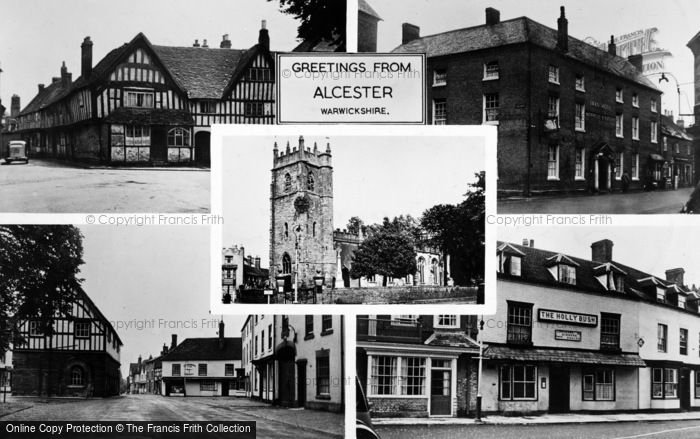 Photo of Alcester, Composite c.1955