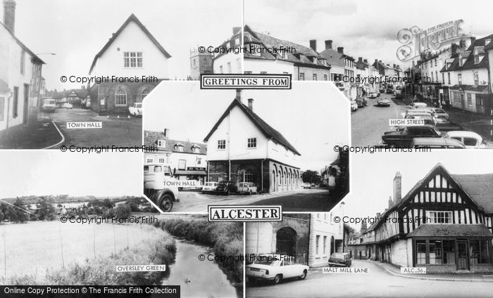 Photo of Alcester, Composite c.1965