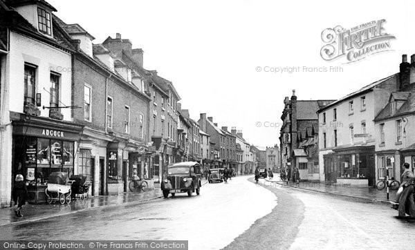 Photo of Alcester, High Street 1949