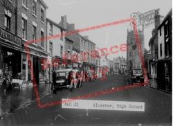 High Street c.1955, Alcester