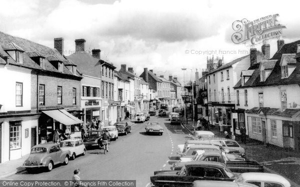Photo of Alcester, High Street c.1965