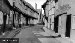 Malt Mill Hill c.1950, Alcester
